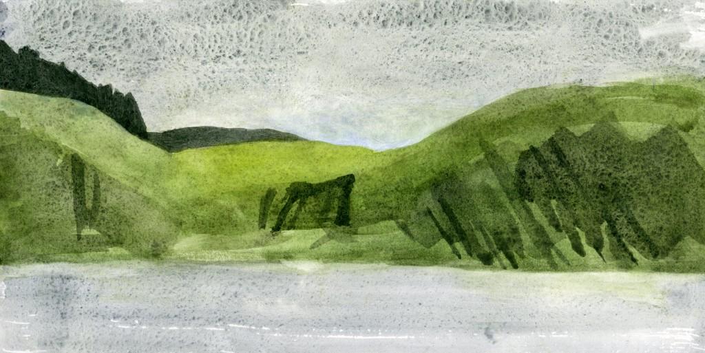 Flowery Meadow, Carrigillihy Headland